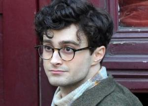 "Harry Potter as ""Howl"" poet, Allen Ginsberg in 2013's ""Kill Your Darlings"""