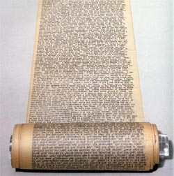 "The ""Road"" scroll"