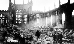 The bombing of Coventry.