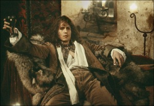Johnny Depp as John Wilmot in The Libertine. Bacchanalia for two, anyone?