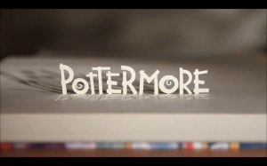 Pottermore: the interactive companion to the Harry Potter books.