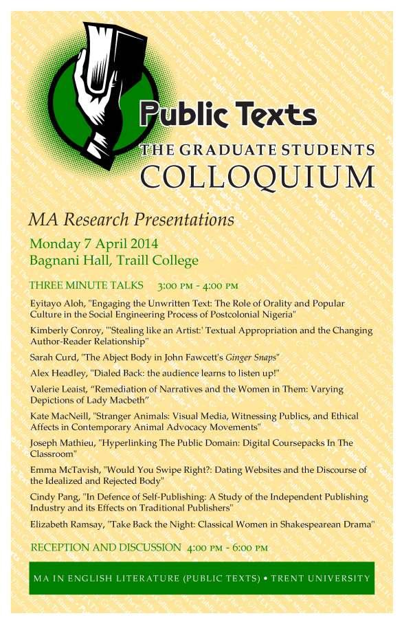Student Colloquium 2014 final